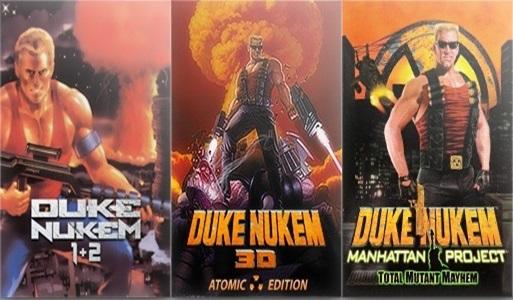 InvisionGames > Duke Nukem 1, 2, 3D, Manhattan Project (PC